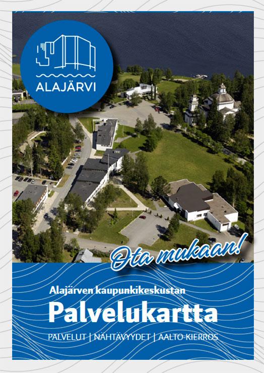 Alajärven palvelukartan kansisivu.