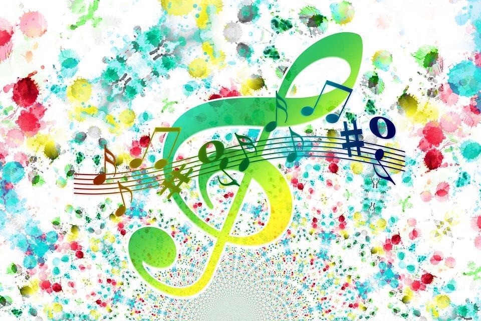 Kuvituskuva, musiikkia