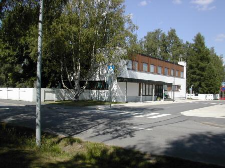 Alvar Aallon tie 2 rakennus edestä...