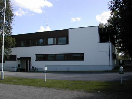 Terveystalo takaa. Kuvat: Alajärven kaupungin kokoelmat.