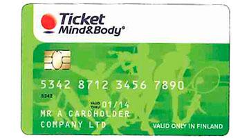 Ticket mind & body maksukortti