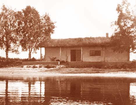 Villa Flora alkuperäisasussaan 1930-luvulla. Kuva: Alajärven kaupungin kokoelmat.